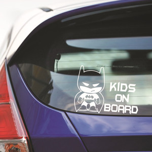 Image 4 - Big sale Car styling New BABY ON BOARD Car Sticker Vinyl Body Car Stickers and Decals