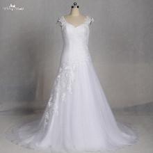 RSW1301 Yiaibridal Real Job Photos Removable Shoulder Dress