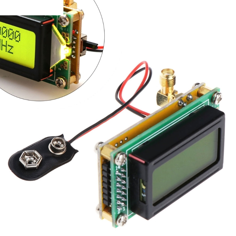 Digital Multimeter DIY High Accuracy Sensitivity 1-500MHz Frequency Meter Counter Module Hertz Tester RF Frequency Counter Multi-Purpose Tool