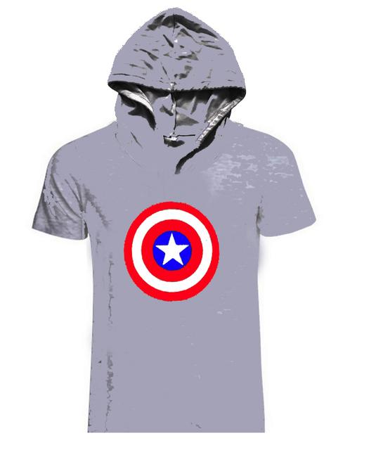 Seven Joe.New Men GYMS Hoodie T-Shirt