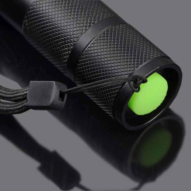 z35 LED Flashlight Torch XM-L T6/L2 Waterproof self defense supplie with Attack head 5 Mode Led Tactical Flashlight for camping