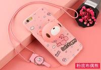 Casos de telefone para o iphone 6 6 s plus 3D Bonito Dos Desenhos Animados Ice Cream suave TPU Silicone Case Capa Voltar Para o iphone 6 6 s mais caso