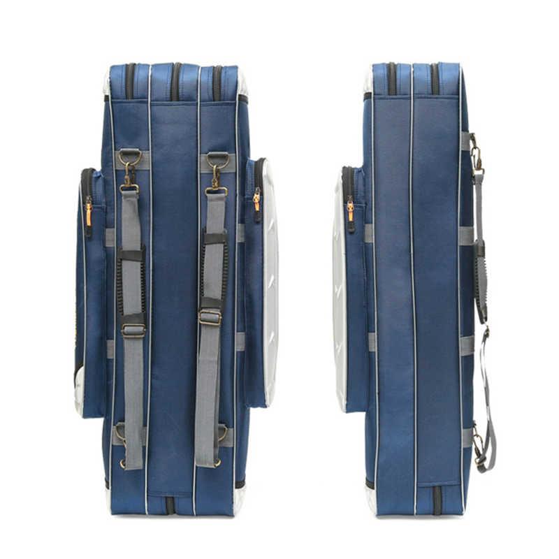 Sac de pêche multifonction Portable Pesca toile 80/90/100/120CM canne à pêche 3 couches 4 couches voyage étui de transport Pesca XA49G