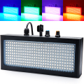 Mini Sound control 270RGB LED Strobe Light Flash For Disco Party DJ Home Lamp Music Show Projector Stage Lighting Effect (Black)
