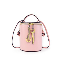 2018 Hot Sale Women Crossbody Bags Summer Barrel Shaped Tassel Black National Style Handbags Ladies Teenage Girl Travel Bags