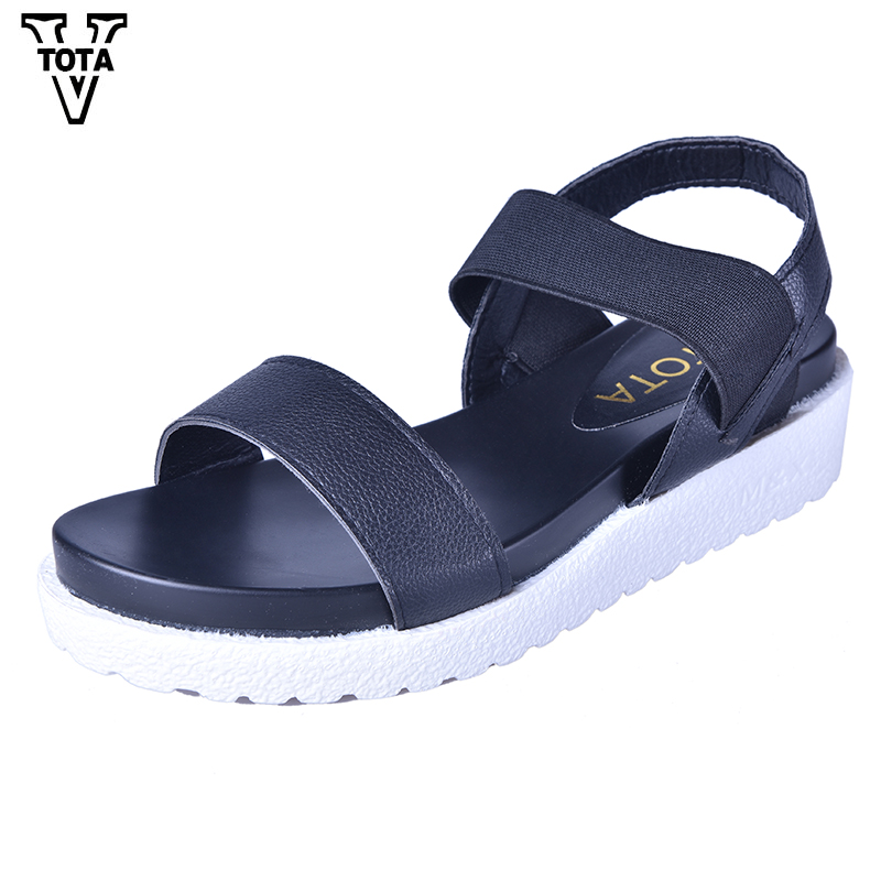 VTOTA Summer Sandals Women platform Shoes Woman Comfortable Womens Shoes Mixed Colors Casual Ladies Shoes Zapatos Mujer Flats phyanic 2017 summer new women sandals with chain women buckle strap flat platform summer casual shoes woman phy3413