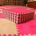 2 Шт. DIY Моды Спальня ковер мозаики головоломки коврики плюшевые пены коврики татами детская комната ковер из шерсти