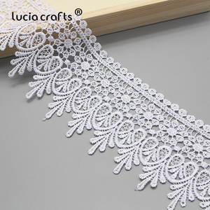 Image 4 - Lucia crafts  Embroidered  Lace Fabric 2020  Sewing Handmade DIY Dress Clothes  1y/2y N0508