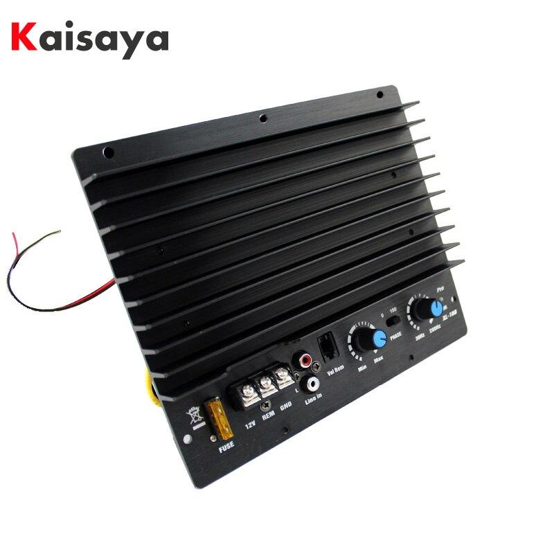 12 v Subwoofer Carte Amplificateur mono 1000 w pour Voiture Audio Haut-Parleur 8 pouce 10 pouce 30-280 khz puissance audio Amplificateur D2-007