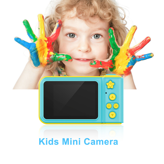 Mini Kids Camera Cam Cartoon Cute Mini Camera Fotografica Profesional Digital for Boys Gilrs Gifts For Children's Day Photo