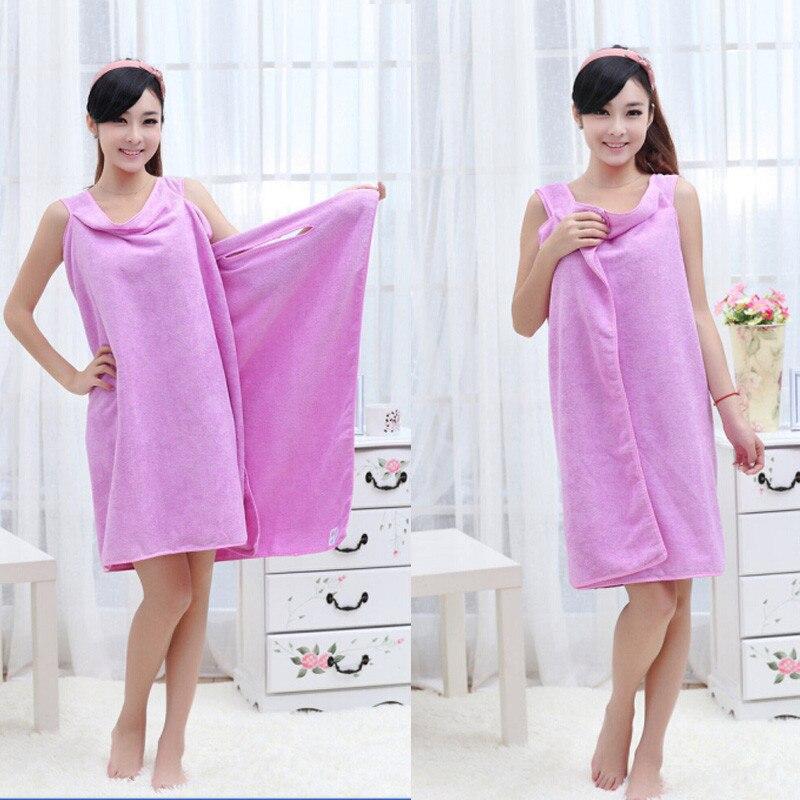 Wearable Towel Bath Spa Shower Swimming Wrap Soft Magic Washcloths 9.12