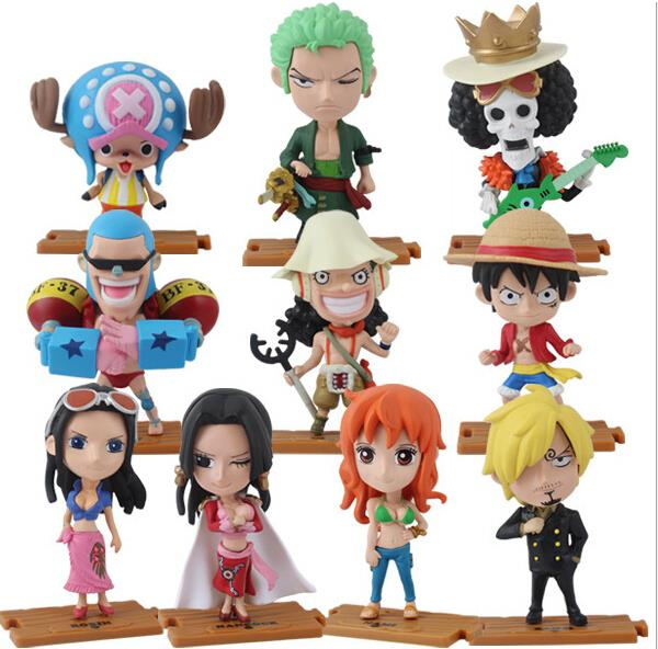 Flag Diamond Ship Nami Pirate Captain Nico Pvc Action Figures Model Toy Doll Making Things Convenient For The People Action & Toy Figures Anime One Piece Figure Boa Hancock Cos Pirate Ver