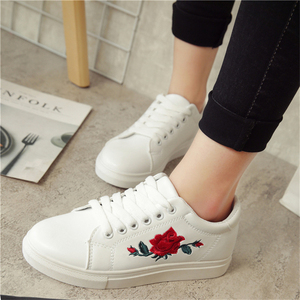 1pair Flower Embroidery Trend