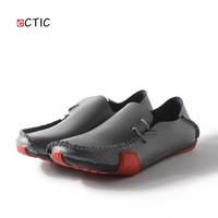 Genuine Leather Big Size Men Driving Shoes Good Quality Soft Men Loafers Comfortable White Grey Marron