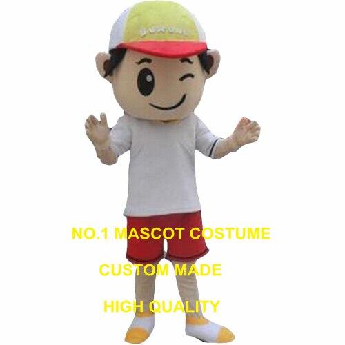 Costume de mascotte garçon enfant personnage de dessin animé personnalisé costume de carnaval cosplay 3019