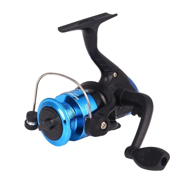 Carretel de pesca de alta velocidade 5.1: 1 dobrável rocker girando roda carretilha pesca bobinas acessórios YL-10