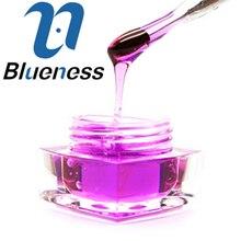 Blueness 1 Pcs 8ml Violet Glaze Glass Diamond Nail Art UV Gel Soak off Decals Nails UV Gel Polish JH339-11