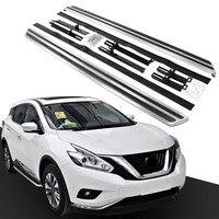 2 PCS Plattform Iboard Nerf Bar Seite Schritt FIT für Nissan Murano 2015 2020 Trittbrett|Nerf Bars & Trittbretter|   -