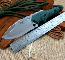 High Quality Handy Folding Knives Crusaders Hud knife Fixed Hunting knife tactical survival Outdoor camping Tool