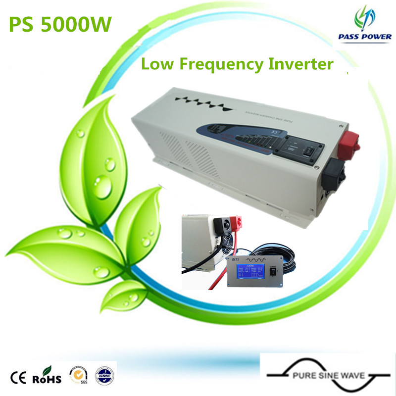 CE,ROHS,ISO9001 approved, ups 24v 230v inverter 5000w inverter pure sine wave combined inverter with charger