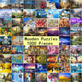 27 Types 1000 Pieces Children Jigsaw Paper Puzzle Hot Selling Children Gift picture WOODEN puzzles 1000 pieces