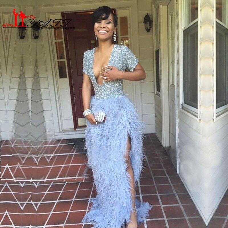 Feather Dressing Gown: Online Get Cheap Ostrich Feather Dress -Aliexpress.com