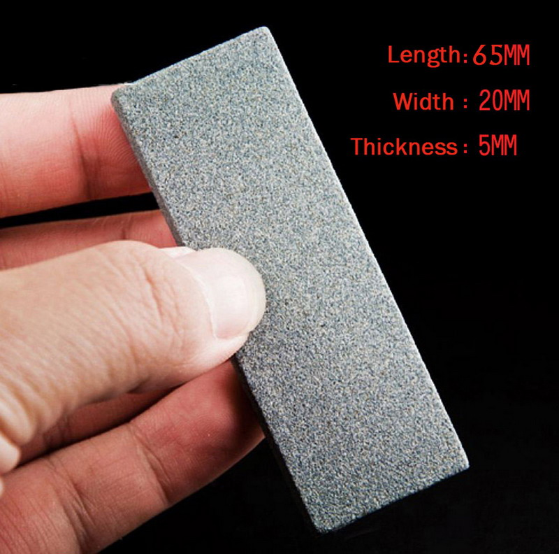 New Grit Double-Sided Knife Sharpener Grind Stone Whetstone Kitchen Tool P0.2