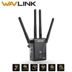 Wavlink AC1200 WIFI مكرر/راوتر/نقطة وصول لاسلكية واي فاي المدى موسع واي فاي مكبر صوت أحادي مع الهوائيات الخارجية الساخن