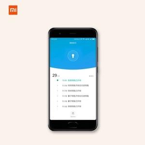 Image 5 - Xiaomi mijia fechadura inteligente, porta de segurança residencial, prática, antirroubo, fechadura, núcleo com chave, funciona com mi home aplicativo de aplicativo