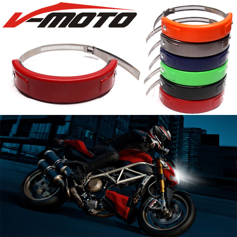 Hot sell For HONDA NC750 S/X NC750S NC750X 2014 - 2016 2015 Accessories Silencer/Round Oval Exhaust Protector Can Cover