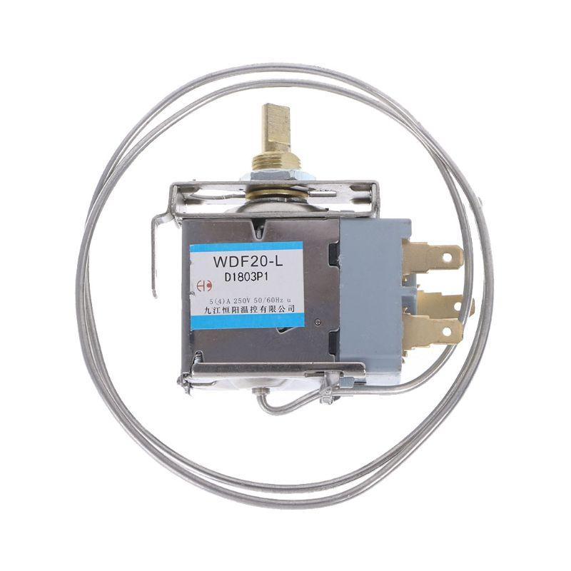 1 Pc Nieuwe Koelkast Onderdelen WDF20-L Koelkast Thermostaat 250V Huishoudelijke Metalen Temperatuur Controller