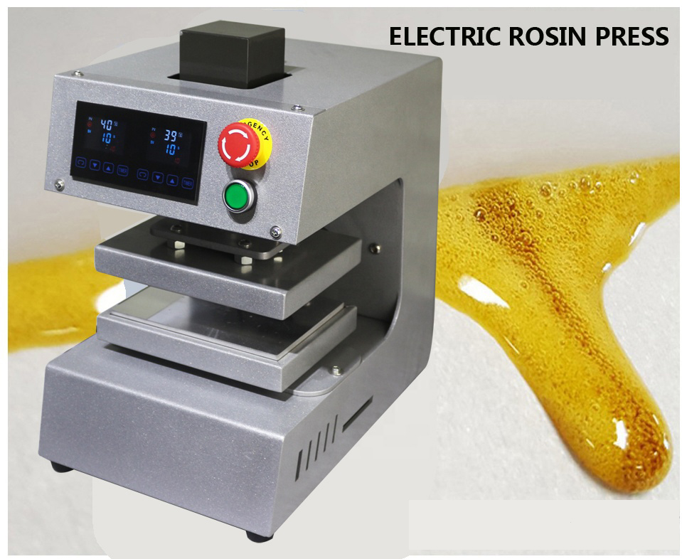 10x15cm 4x6inch Digital Dual Heating Plates No Compressor Needed Electric Auto Rosin Press Oil Extractor Free