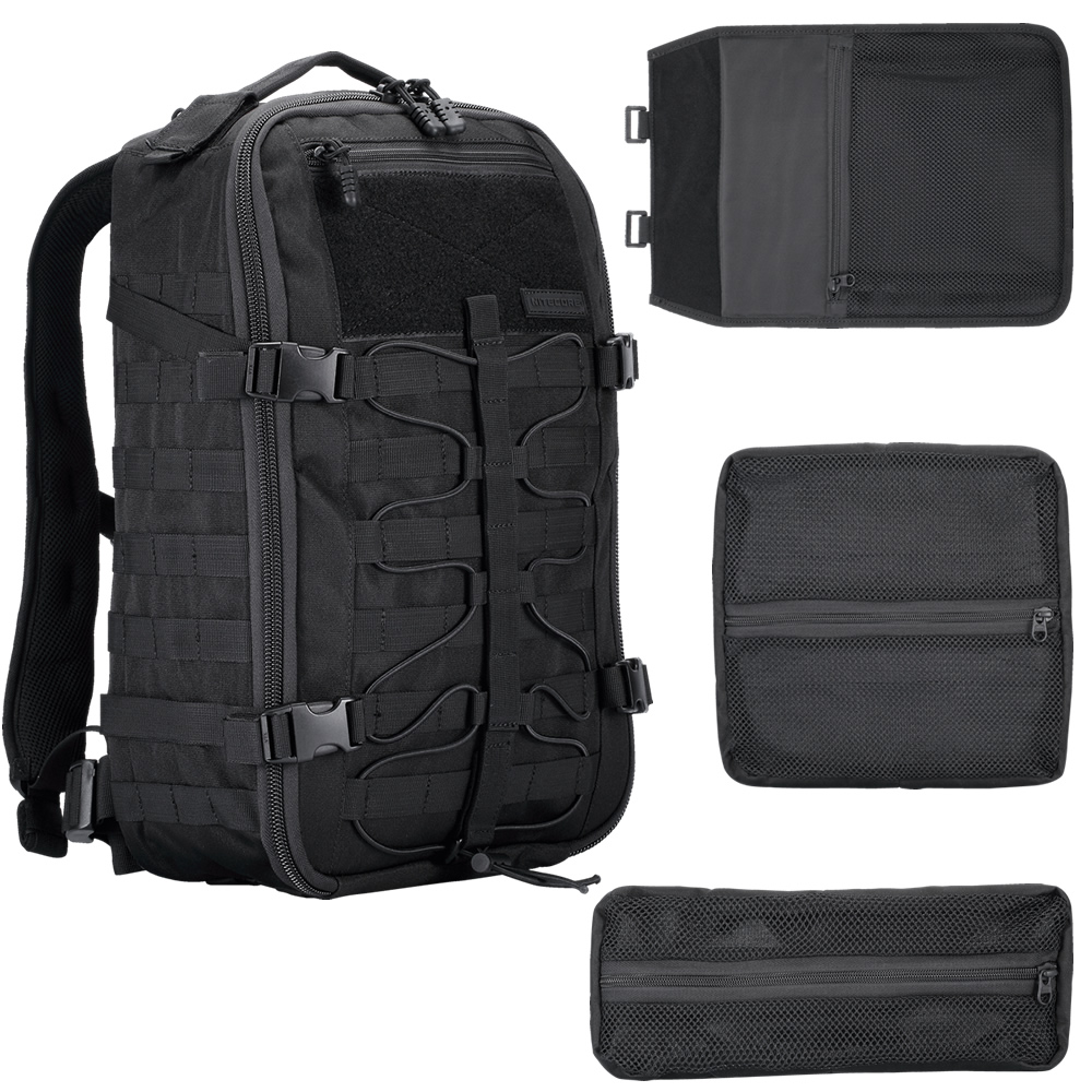 Wholesale NITECORE BP25 Outdoor Multi-purpose Wear-proof Nylon Tools Bag Backpack 25L 4 Side MOLLE System Modules Gear Equipment