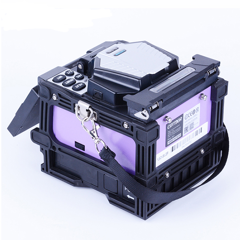 Lower Price with Ftth Fiber Cable Tool Device Gt90 Fttx Fusion Splicer optical Fiber Fusion Splicing Machine Communication Equipments