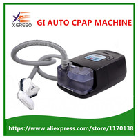 Auto CPAP Breathing Machine Device With Nasal Full Face Nose Pillows Mask Tube For Sleep Anti