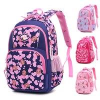 ZIRANYU Hot Sale children backpacks For Teenagers girls waterproof school bags child orthopedics schoolbags boys Grades 1-3 Kids & Baby Bags