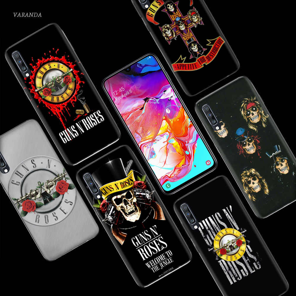 Súng N Hoa Hồng Ốp Lưng Dành Cho Samsung Galaxy Samsung Galaxy A50 A70 A80 A60 A40 A30 A20 A10 A50s A30s A20e A6 A8 plus 2018 TPU Fundas Túi Đựng Điện Thoại Da