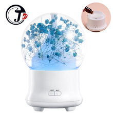 ФОТО Immortal Flower Ultrasonic Hum difier Aroma Diffuser Essential Oil Aromatherapy for Home Appliances Air Freshener with LED Lamp
