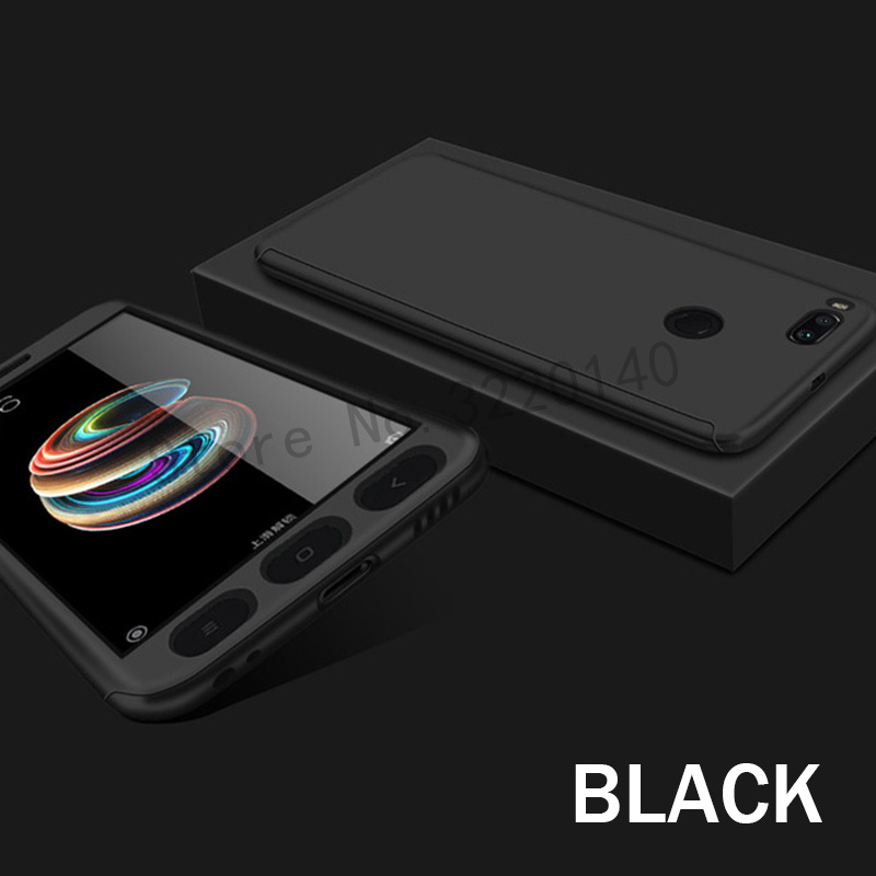 360 Degree Full Cover Cases For Xiaomi MI A1 mi 5x case Phone shell For Xiaomi redmi Note 4 4X case For redmi 4A 4X With Glass11