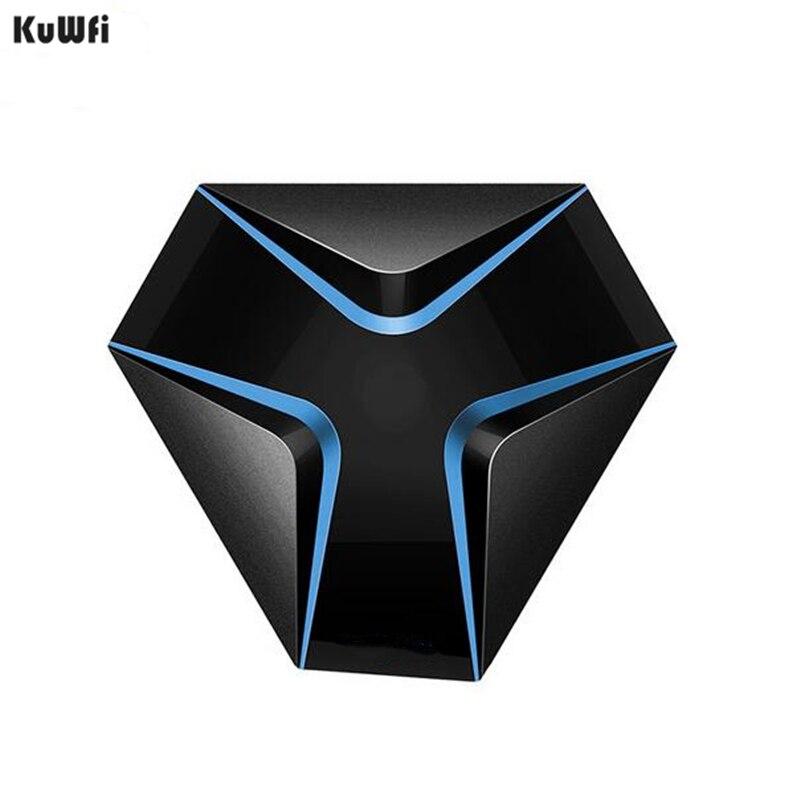 KuWFi TV Box Amlogic S905X Android 7.1 TV BOX Quad-core 4K résolution 2 GB/16 GB Android TV Support 2.4G WIFI LAN H.265 Smart Box