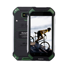 Новинка 2017 года Guophone V19 4.5 «телефон MTK6580 QuadCore Android 6.0 3 г GPS 4.5 дюймов Экран IP68 Водонепроницаемый смартфон