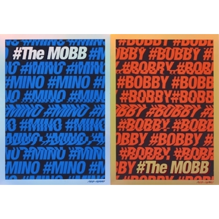 MOBB DEBUT MINI ALBUM - THE MOBB RANDOM COVER Release Date 2016.09.23 KPOP bigbang 2016 welcoming collection release date 2016 03 02 kpop album