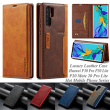 Flip Leather Case For Huawei P30 Pro Coque Wallet Phone Cases For Huawei P30 Lite P20 Mate 20 Pro Lite Cover lychee texture pu leather flip wallet case mobile phone bag back cover skin coque funda capa for huawei p20 p30 mate 20 lite pro