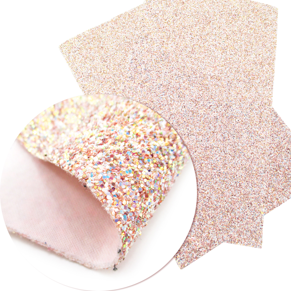 David accessories 20 34cm A4 Glitter Faux Synthetic Leatherette Vinyl Fabric  Sheet Hair Bow DIY Decoration Crafts 1piece 0dfd781ea1f7