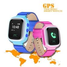 Q60 Kids Smart watch 0.66 TFT Display kids gps tracker watch Quad band GSM/GPRS/GPS Tracker with sim card slot free shipping