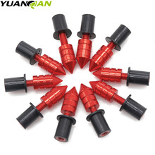 Motorcycle Windscreen Spike M5 Bolts Well Nuts FOR suzuki gsxr 600 gsxr 750 K6 K7 K8 K9 K10 2006-2010 & gsx-r 1000 K5 K6 51mm universal motorcycle scooter exhaust pipe muffler escape for suzuki gsxr 600 750 gsx r 2006 2007 2008 2009 k6 k7 k8 k9