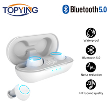 X03 TWS Mini Wireless Earbuds Waterproof Touch Control Bluetooth Earphone with Dual Microphone Stereo Music Headphones for phone цены онлайн