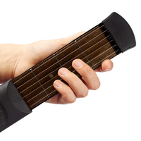 Pocket Guitar Practice Portable Music Tool Gadget 4 Fret Strings For Beginner Student Useful Acoustic Bass