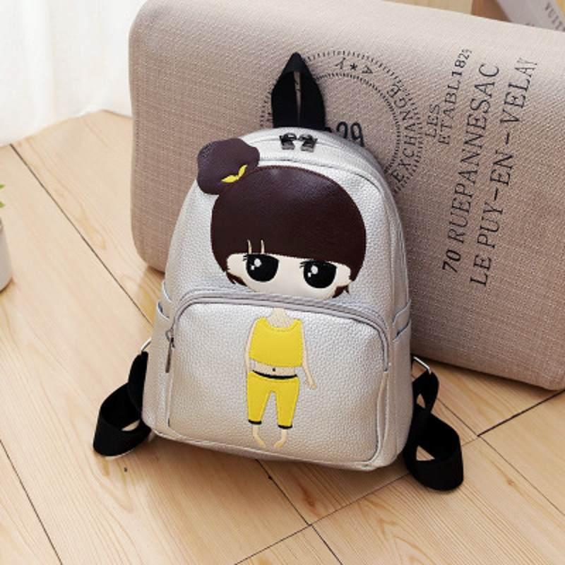 old dower me Brand Canvas Men Women Backpack waterproof nylon Korean casual backpack