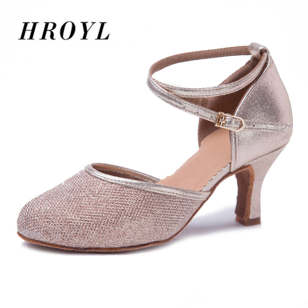Nuevo tipo de baile de Tango latín moderno zapatos de baile zapatos de dedo del pie cerrado sandalias de zapatos de baile mujeres chicas damas Salsa caliente, zapatos venta